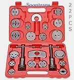 Soontrans - Coffret repousse piston d étrier de freins- Étriers de frein à disque- Kit d outils 22 pièces - Outils pour étrier de freins