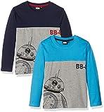 Star Wars Kinder Langarm T-Shirt mit Print im 2er Pack