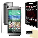 [3Stück] Techgear® HTC One Mini 2matt Anti-Glare LCD Displayschutzfolie Guard mit Reinigungstuch und Aufziehhilfe, 3 Stück, matt / blendfrei