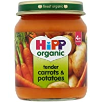HiPP Organic Stage 1 From 4 Months Tender Carrots and Potatoes 6 x 125 g (