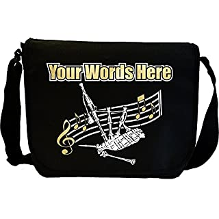 Bagpipe - Personalisierte Sonderanfertigungen Musik Noten Tasche Sheet Music Document Bag MusicaliTee