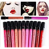 36 : 1pcs Retail Makeup Lip Gloss Velvet Matte Waterproof Cosmetic Lipstick 36 Colors