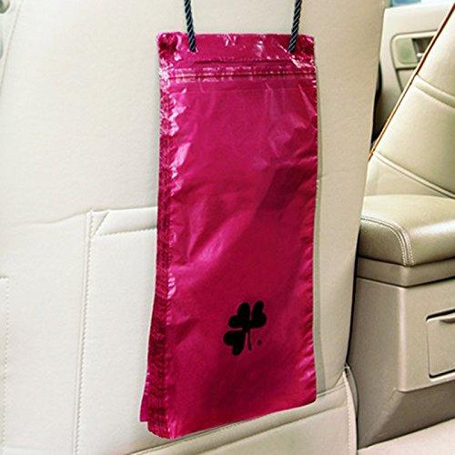 Preisvergleich Produktbild 50Auto Garbage Tasche, tragbar Auto Sitz Zurück zum Aufhängen AUTO Trash Taschen Tragbar Einweg Automarke Organizer Aufbewahrungstasche für Katzentoilette Garbage
