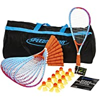 Speedminton Fun Big Set, colour azul/rojo/negro, 400129