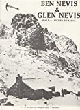 Ben Nevis and Glen Nevis. Scale -4 Inches to 1 Mile. Map.