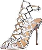 SchutzS0-20420143m - Scarpe con cinturino alla caviglia Donna , argento (Silber (Prata)), 37