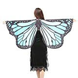Style_Dress Damen Frauen Butterfly Wings Schmetterlingsflügel Schals Nymph Pixie Ponch