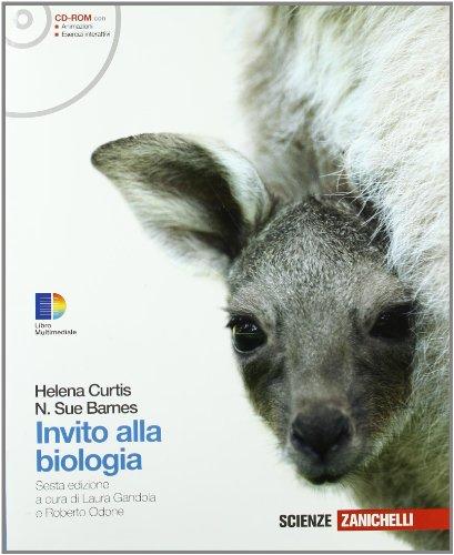 Invito alla biologia. Volume unico. Per le Scuole superiori. Con CD-ROM. Con espansione online