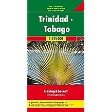 Freytag Berndt Autokarten, Trinidad - Tobago 1:125.000 (freytag & berndt Auto + Freizeitkarten)