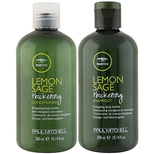 Paul Mitchell LEMON SAGE Haarverdichtung Shampoo & Conditioner Duo Set 300 ml EA