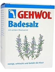 GEHWOL Rosmarin Badesalz Portionsbeutel 250 g Salz