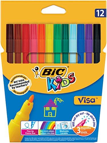 BiC Kids Visa – Caja de rotuladores