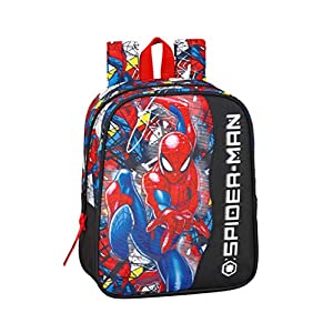 "51RDgbG2fQL. SS300  - Spiderman ""Super Hero"" Oficial Mochila Infantil 220x100x270mm"