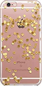 Dailyobjects Limited Edition Gold Clear Case For iPhone 6S