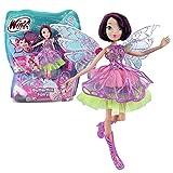 Winx Club - Butterflix Fairy - Tecna Poupée 28cm avec magique Robe