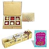 #2: SFU E Com Chocolate Box With Birthday Card 5 Pieces Ferrero Rocher Chocolate Birthday Gift Birthday Chocolate Hamper 23