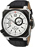 GV2 by Gevril Men's Analogue Quartz Watch with Leather Calfskin Strap 4520