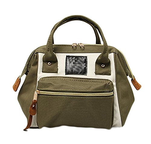 Ms. Messenger Bag Sacchetto Di Svago Oxford Stoffa Tre Bocca Grande Con Un Sacchetto Di Borsa Da Viaggio Di Piacere Rampa Zaino Portatile Brown
