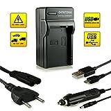 Neuheit - 4in1 Ladegerät mit micro USB Anschluss · 100% kompatibel mit LP-E8 Akkus für Canon EOS 550D | 600D | 650D | 700D | Rebel T2i | Rebel T3i | Rebel T4i | Rebel T5i und weitere…