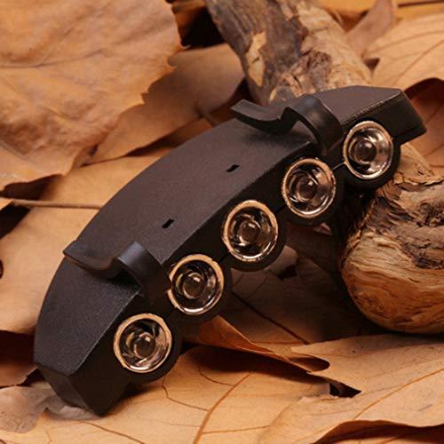 Nichino 5 LED Cap Hut Krempe Clip Lampe Scheinwerfer Scheinwerfer Scheinwerfer Arbeiten in Dunkelheit Orte Angeln Camping Wandern und Outdoor
