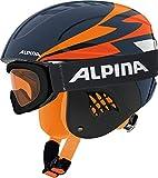 ALPINA Carat Set Kinderskihelmset - 54
