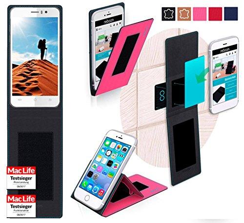 reboon JiaYu G5 Advanced Hülle Tasche Cover Case Bumper | Pink | Testsieger