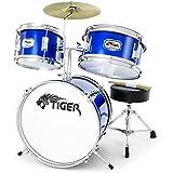Tiger JDS7-BL 3-teiliges Schlagzeugset - Blau