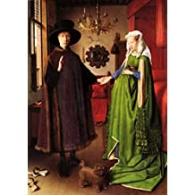 "Counted Cross Stitch Patterns: ""Giovanni Amolfini"" by Jan van Eyck (Great Artists Series) (English Edition)"