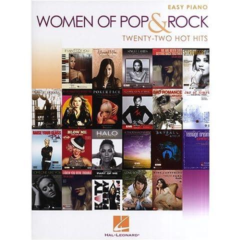 Women Of Pop And Rock: Easy Piano - 22 Hot Hits - Sheet Music
