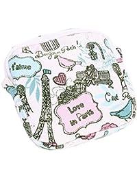 Green 1 : Kingko Women Girl Cute Sanitary Pad Organizer Holder Sanitary Pad Portable Storage Bag Napkin Towel...