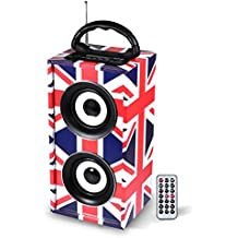 Mini altavoz columna Independiente USB/SD/AUX/Bluetooth/FM 12 W Style UK – freesound-uk