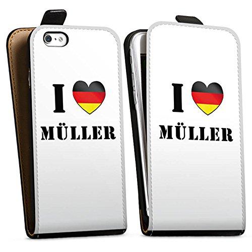 Apple iPhone X Silikon Hülle Case Schutzhülle Thomas Müller Fußball Sport Downflip Tasche schwarz