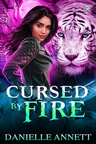 Cursed by Fire: A New-Adult Urban Fantasy Novel (Blood and Magic Book 1) (English Edition)
