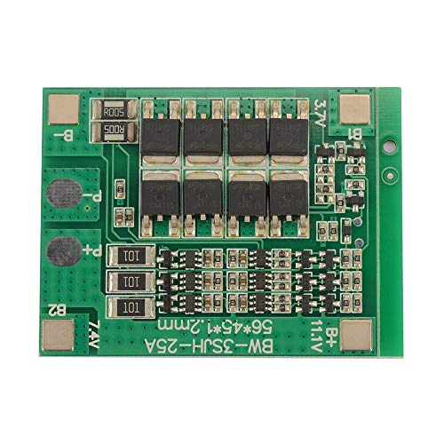 Bertong 3S 11,1 V 12,6 V 25A 18650 Li-Ionen-Lithium-Batterie BMS PCB-Schutzplatine TE910 Elektronisches Zubehör elektronisches Zubehör