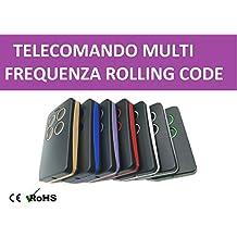 Mando a distancia remoto universal multifrecuencia de 300a 868MHz rolling code y Código fijo