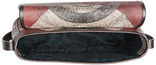 Gattinoni Gplb031, Borsa a Tracolla Donna, 9x20x30 cm (W x H x L) Grigio (Tibetan)