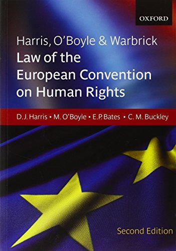 Harris, O'Boyle & Warbrick: Law of the European Convention on Human Rights by David Harris (2009-06-01)