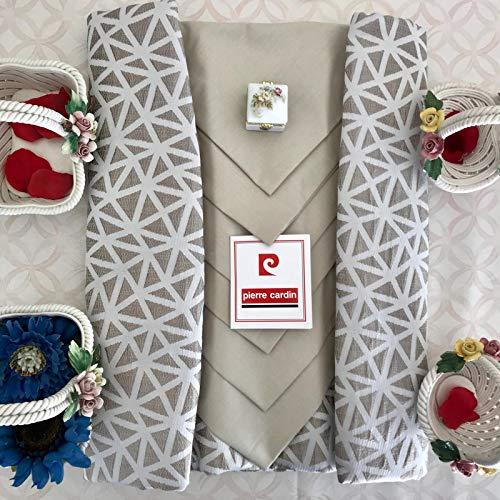Mantel mesa servilletas 12plazas Pierre Cardin Garden