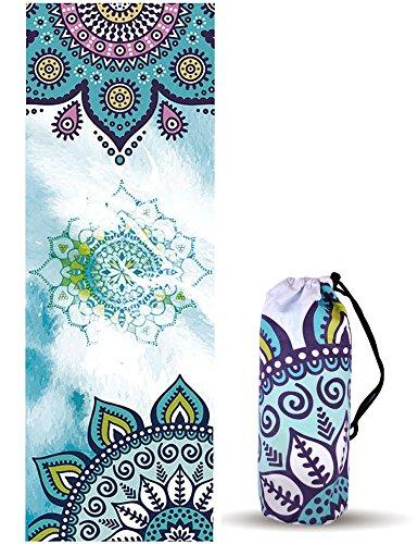 Toalla de Yoga y Pilates UCEC, Diseños Mandala,...