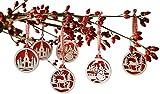 christmas tree decorations set of 18
