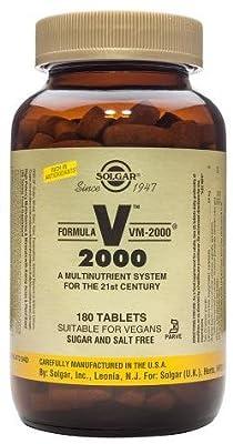Solgar-Formula VM-2000TM: 180 Tablets