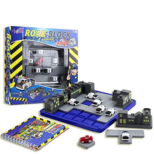 Georgie Porgy Juegos de Mesa Puzzler Juegos Ingenio juegos de Logica para Niños Adultos (Road Block)