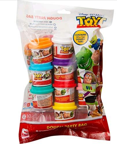 Sambro Set de Pâte À Modeler 10Pots Toy Story, Multicolores (dts-4721)