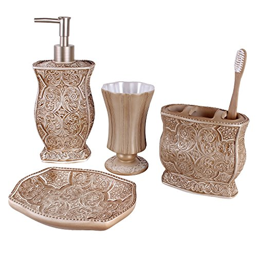 creative-scents-4-teiliges-luxus-bade-set-beige