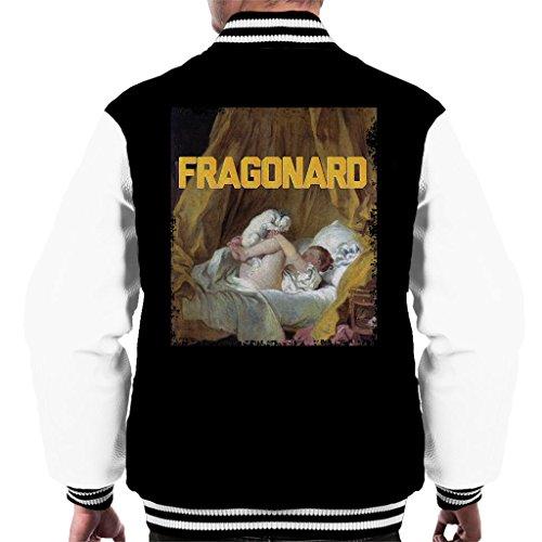 Fragonard Masters Collection Inspired Men's Varsity Jacket (Fragonard Geschenk)