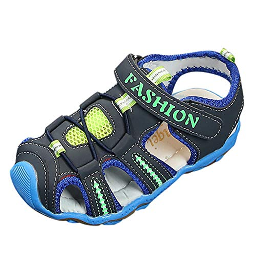 Precioul Baby MäDchen Lauflernschuhe Unisex-Kinder Ii Geschlossene Sandalen Jungen Sneakers Somme Strandschuhe Wanderschuhe Baotou Beach Sandalen Rutschsicher -