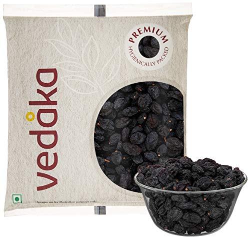 Amazon Brand - Vedaka Premium Black Raisins, 100g