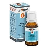 Apopet Schüssler-salz Nummer 6 Kalium sulf.D 6 ve 12 g