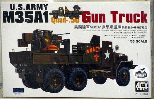 Maquette U.S. Army M35A1 Gun Truck