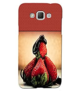 Fuson 3D Printed Fruit Designer back case cover for Samsung Galaxy Grand 3 - D4489